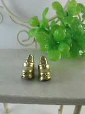 Gold Shoes  for  Barbie,Fashion Royalty,Poppy Parker or similar-