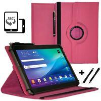 """Tablet 10.1"""" Hülle Tasche für TREKSTOR SURFTAB B10 Schutzhülle Pink 360"""