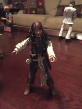 "NECA Pirates of the Caribbean Series 1 ""Smiling"" Jack Sparrow figure NEW"