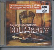 CD + DVD Apprendre à danser la COUNTRY Neuf sous cellophane