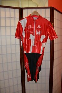 Bioracer retro vintage cycling skinsuit speedsuit  XL . ALY