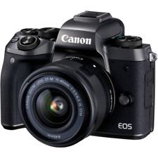 A - Canon EOS M5 sin espejo Digital cámara con 15-45mm Objetivo