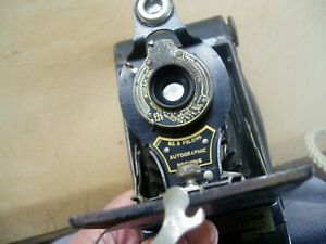 ANTIQUE KODAK BROWNIE No 2 FOLDING AUTOGRAPHIC CAMERA