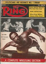 THE RING MAGAZINE DAVEY MOORE COVER NOVEMBER 1960