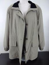 Ladies All Weather Jacket Coat - Used - Tan/Green - Medium