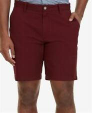 Nautica 8.5 Inch Stretch Classic Fit Deck Shorts Royal Burgundy Mens Size 38 New