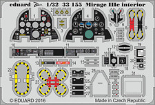 Eduard Zoom 33155 1/32 Dassault Mirage IIIc Italeri