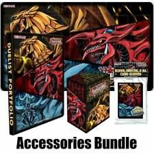 More details for yugioh tcg egyptian god slifer obelisk & ra: card sleeves, deck box binder & mat
