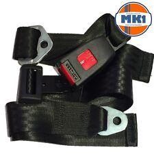 Securon 210 Black Lap Seat Belt Universal Fitment Front Rear Bus Coach Camper