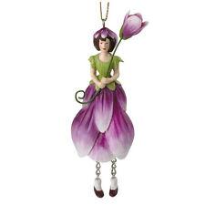 Blumenmädchen Magnolie hängend
