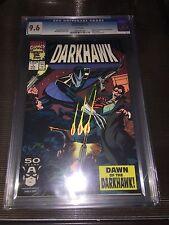 Darkhawk 1 CGC 9.6 1st appearance of Darkhawk Chris Powell 1991 Marvel movie?