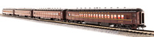 Broadway Limited 3761 4 Cars N PRR P70 with AC Tuscan w/ Buff Lettering
