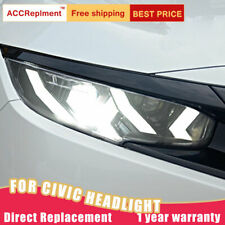 For Honda Civic Headlights assembly ALL LED Lens Projector LED DRL 2016-2019