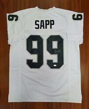 Warren Sapp Autographed Signed Jersey Oakland Raiders JSA