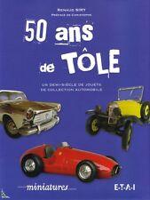 50 ans de tôle, jouets de collection automobile