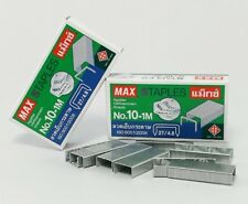 2 boxes STAPLES NO.10-1M 2000 Qty MAX Swingline TOT 50 Mini STAPLER Paper Craft