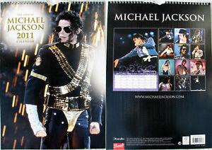 Michael Jackson Calendrier 2011 Calendar Kalender Poster Posters OFFICIAL