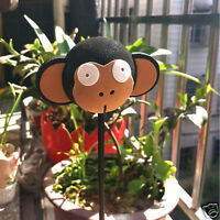 Cute Black Monkey Antenna Ball Car Aerial Ball Antenna Topper Decor Pen Ball New