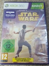 XBOX 360 - STAR WARS KINECT  * NEW & SEALED PROMOTIONAL COPY * MICROSOFT *
