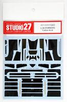 Studio27 ST27-CD20016 F189(640) Carbon Decal for Tamiya 1/20