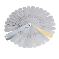 QUALITY OFF-SET BENT OEM FEELER GUAGE 26 BLADES STAINLESS STEEL 0.005-0.030//// 0.0127-0.762 MM