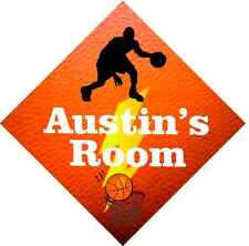 BASKETBALL ROOM SIGN add name