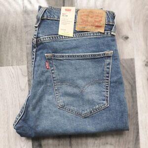 Mens New LEVIS 511 Slim Fit Stretch Denim Riveted Blue Jeans 04511-4702