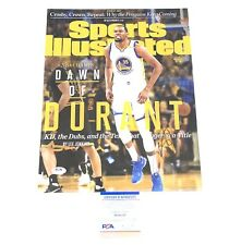 Kevin Durant Signed Autographed 11x14 Photo PSA/DNA Warriors Nets Curry Kyrie