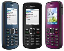 Nokia C1-01 Camera Bluetooth Mobile Phone Genuine Cheap lock unlock all GRADEs