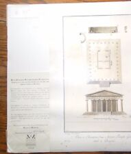 Pompeii C1999 Engraved Lithograph Limited Edition