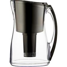 New listing 8-Cup Water Filtered Pitcher in Black, Bpa Free by Brita