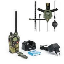 Pack Airsoft MIDLAND g9 Camo colore PMR/LPD 5w + AURICOLARE CON FIOCCO Tactical Paintball