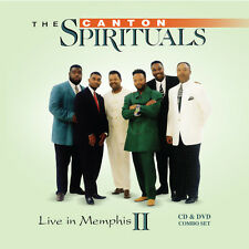 The Canton Spirituals - Live in Memphis II [New CD] With DVD