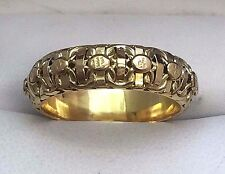 14k Yellow Gold Intricate Woven Ring