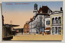 29596 AK Winterthur Bahnhofsplatz Bahnhof Post u. Aktien-Brauerei Zürich um 1912