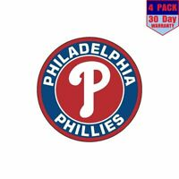 Philadelphia Phillies Liberty Bell NEW Logo Baseball Vinyl Sticker Eagles Flyers