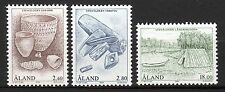 Finland / Aland - 1994 Stone age Mi. 88-90 MNH
