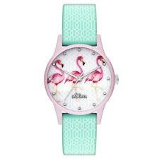 s.Oliver Damen Uhr Armbanduhr Silikon SO-3513-PQ