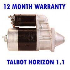 TALBOT HORIZON 1.1 1.3 1.4 1.6 1978 1979 1980 1981 - 1986 RMFD STARTER MOTOR