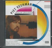 PIET VEERMAN - Rollin'on a river (FAMOUS FAVOURITES) CD 13TR (EMI BOVEMA) 1990