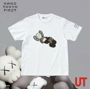 KAWS TOKYO FIRST x UNIQLO T-shirt UT White JP Size M,L,XXL - Suit S,M,XL In Hand