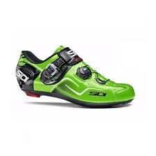 SIDI Kaos Road Cycling Shoes Bike Bicycle Shoes Green Fluo Size 36-46 EUR