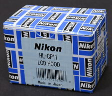 Nikon HL-CP11 LCD Hood for Nikon Coolpix - Brand New in Box