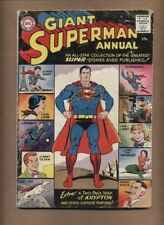 Superman Annual #1 (missing back cover o/w FR) 1st Silver Age DC annual (c#15580