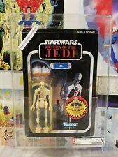 Star Wars Vintage 8D8 ROTJ 77 Back AFA 80 Rare ANAKIN Offer  UNPUNCHED  MOC