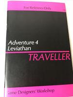 Game Designers' Workshop ADVENTURE 4 Leviathan Traveller Referees Only