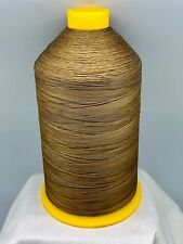 16 oz Spool Honey Brown Sewing Thread #69 Bonded Nylon T70 Made In USA N317