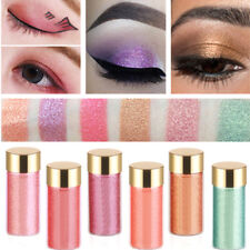 Femme Ombre Paupière Ombre Poudre Glitter Yeux Highlighter Brillance Maquillage