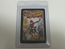 2005 USA Wacky Packages ALL NEW SERIES 3 PROMO Card Annoying Spitter-Man - ANS