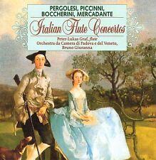 ITALIAN FLUTE CONCERTOS PETER - LUKAS GRAF - CD